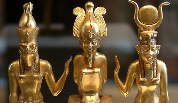 Osiris Isis Horus