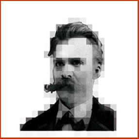 Nietzsche in kader