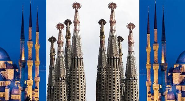 Vele torens Gaudi